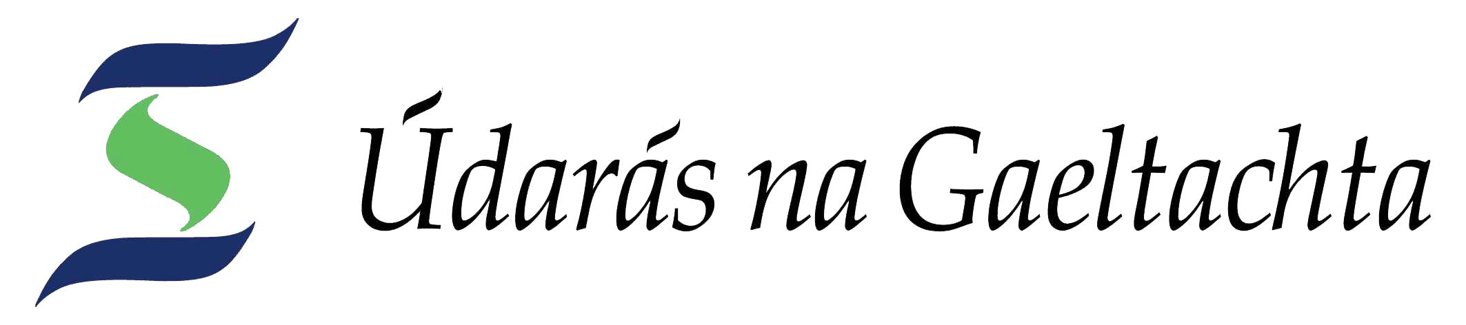 Údarás na Gaeltachta Logo-Transparent